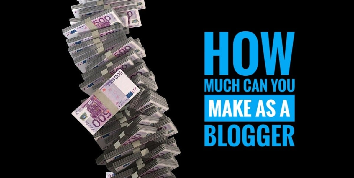 Money picture that displays how much you can make as a blogger